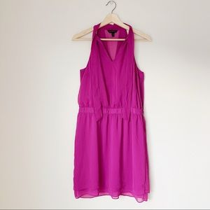 Banana Republic Tie Halter Neck Short Dress
